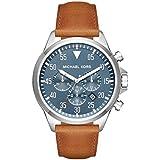Michael Kors Men's Gage Silver-Tone Watch MK8490