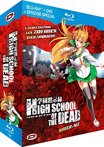 High School of The Dead-Intégrale Combo (Version française) [Édition Meurtrière Blu-Ray + DVD]