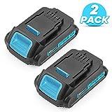 2 Pack DCB205 20 Volt Battery Replacement for Dewalt 20V Battery XRP Max Lithium DCB200 DCB201 DCB202 DCB203 DCB204 DCB207 Batteries