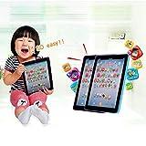 Kloius Pantalla táctil para niños Tablet Pad English Learning Early Education Machine Ordenadores educativos