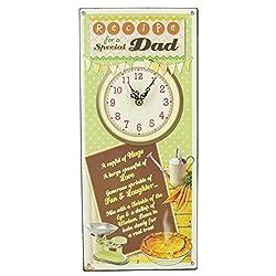 Widdop Bingham Juliana Recipes from The Heart Wall Clock - Special Dad