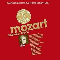 Mozart: Chamber Music by Budapest String Quartet, Juilliard String Quartet, Alfred Brendel, Clifford Curzon, Clara Haskil & Mieczyslaw Horszowski Amadeus Quartet