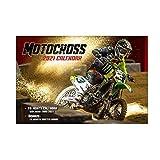 カレンダー MX MOTO-X 2020年9月~2021年12月(16か月)壁掛け モトクロス バイク WESTWOODMX