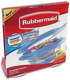 Best rubbermaid collapsible tupperware Reviews