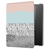 Huasiru Pintura Caso Funda para Kindle Oasis 2017/2019 (7 Pulgadas, 9.ª/10.ª generación) Cover, Colores
