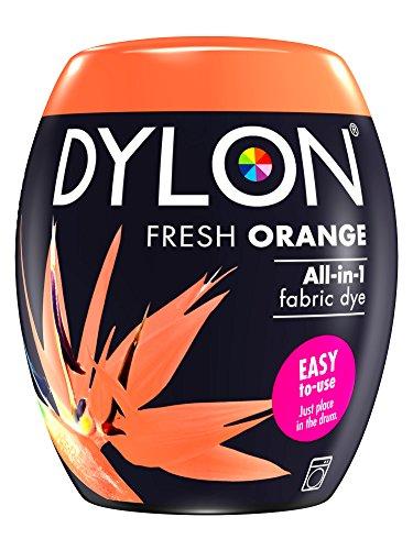 Dylon Maschine Dye Pod, Fresh Orange, 8.5 x 8.5 x 9.9 cm