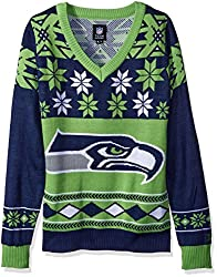 Seahawks Christmas Sweater. Ugly CHristmas Sweater Seattle Seahawks