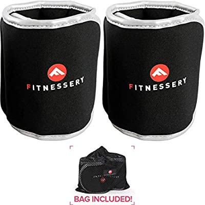 Leg Weights: Ankle Weight (x2) - Adjustable Ankle Weights for Women and Men - Wrist Weights for Women and Men - Leg Weights for Women and Men - Arm Weights for Women - Physical Therapy Equipment