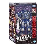 Transformers Generation - Robot Voyager Soundwave Vaisseau Spatial Cybertronien 20cm - Jouet transformable 2 en 1