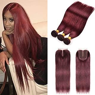 Best burgundy weave color Reviews