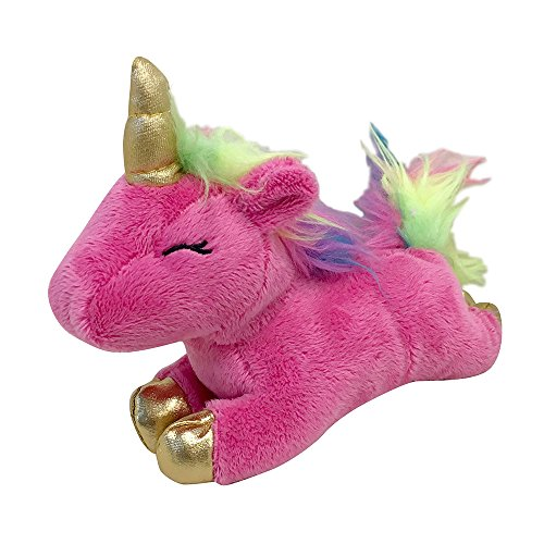 FOUFIT 85601 Unicorn Plush Toy for Dogs, Pink, 6'