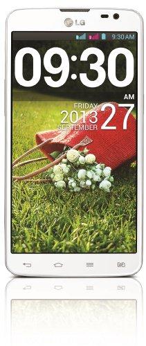 LG  G Pro Lite Smartphone (14 cm (5,5 Zoll) IPS-Touchscreen, 1 GHz Dual-Core Prozessor, Dual-Sim, 8 Megapixel-Kamera, Android 4.1.2) weiß