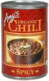 AMYS CHILI SPICY GF ORG, 14.7 OZ (Pack of 6)