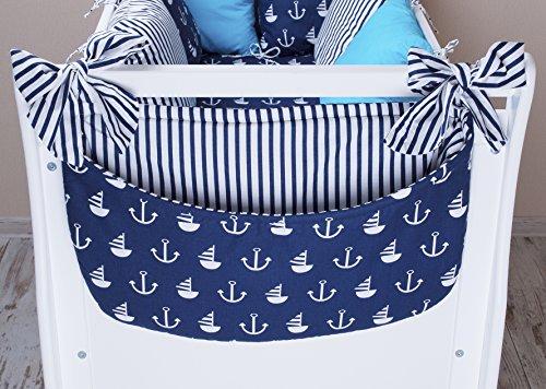 Amilian® Betttasche Spielzeugtasche Design52 Babybetttasche Windelntasche Spielzeughalter für Kinderbett NEU
