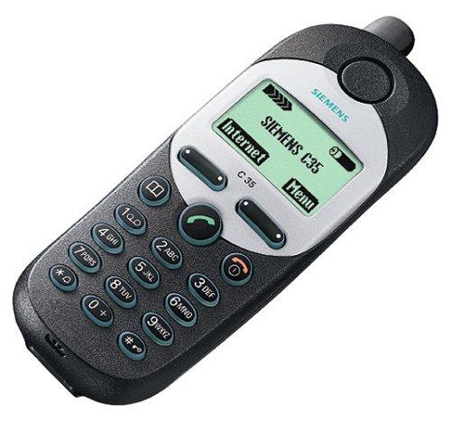 Siemens C35i Handy blau