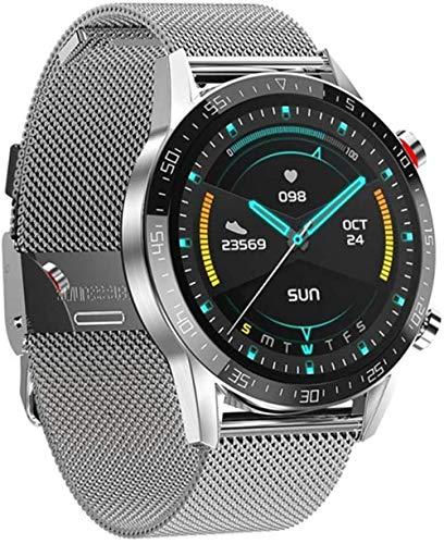 Reloj inteligente para hombre, ECG + PPG, frecuencia cardíaca, IP68, impermeable, Bluetooth, llamada, para Huawei Xiaomi Samsung IOS-C