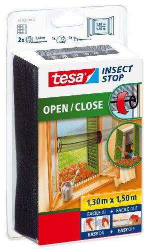 Tesa Insect Stop 55922-00021-00 Fliegengitter zum Öffnen und Schließen