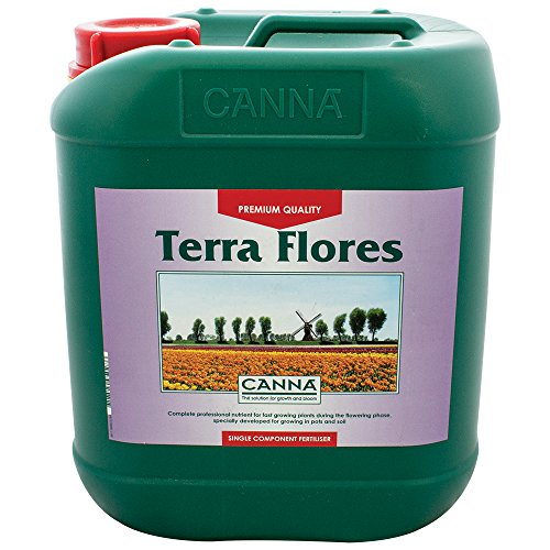 Canna Terra Flores - Weiß, 5L, Gemischte Materialien