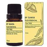 Oleo Essencial de Tea Tree 10 ml, By Samia, Multicor