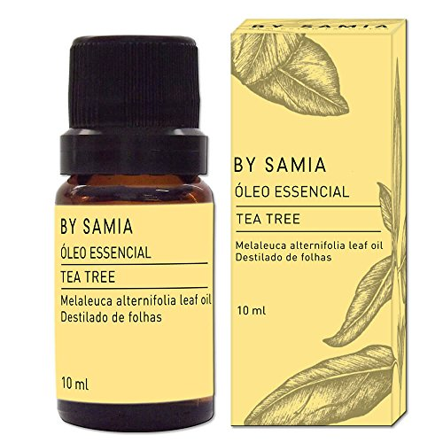 Óleo Essencial de Tea Tree 10 ml, By Samia, Multicor