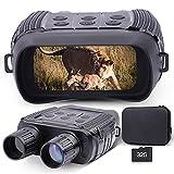 Prismáticos de visión nocturna para adultos, pantalla LCD de 2,31 pulgadas, 300 m/980 ft, gafas de...