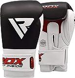 RDX Gants de Boxe Kickboxing Muay Thai Cuir Vachette Sparring Gant Sac Frappe...