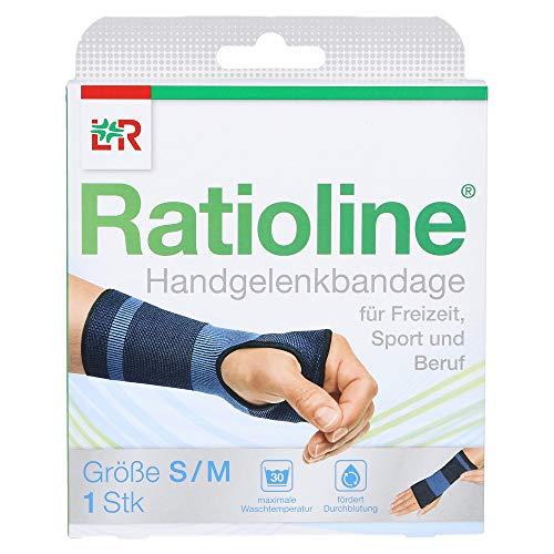 RATIOLINE active Handgelenkbandage S/M, 1 St