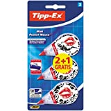 Bic Tipp-Ex Mini Pocket Mouse Decorated correttore a nastro formato pocket con decori conf...