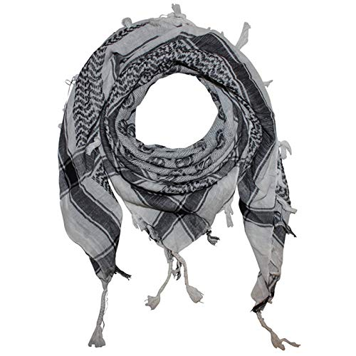Superfreak Palituch - Smilers weiß - schwarz - 100x100 cm - Pali Palästinenser Arafat Tuch - 100{385b527c3488861a12fbadf759d2c8669f069ba5e964b7756c66d06fdb89b49e} Baumwolle