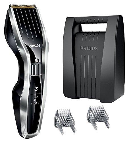 Philips HC5450/80 - Cortapelos con cuchillas de titanio, tecnología Dual Cut y...