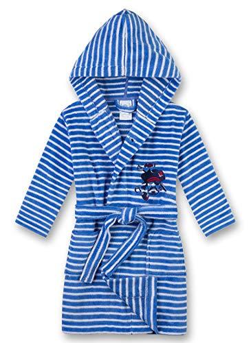 Sanetta Jungen Bademantel Pirat, blau gestreift 232278 gr.140