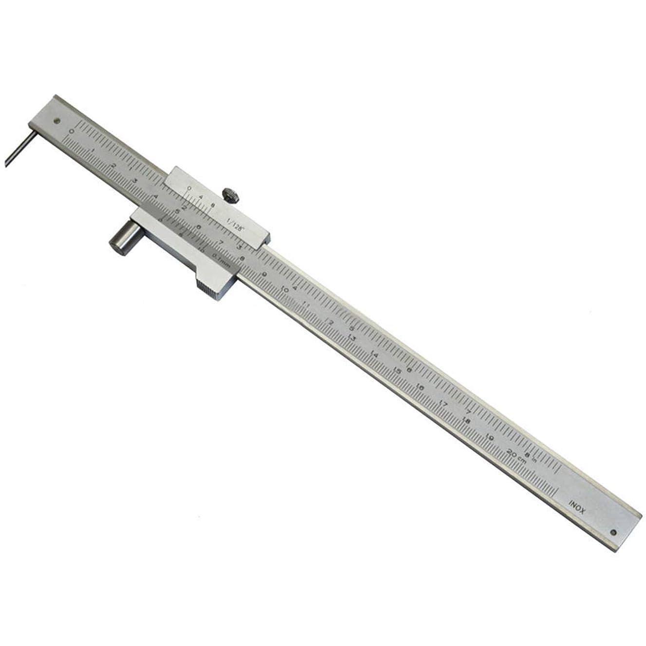 反発歯科のぴかぴかSSY-YU ノギス パラレルルーラーはクロスノギスをマーキングキャリパー針をマーキングキャリパー0-200MMカーソルを組みます 測定工具 精密作業大工DIY