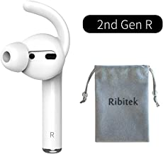 Single Earbuds Replacement with Detachable Ear Hooks for AirPods 2nd Generation R Right Side