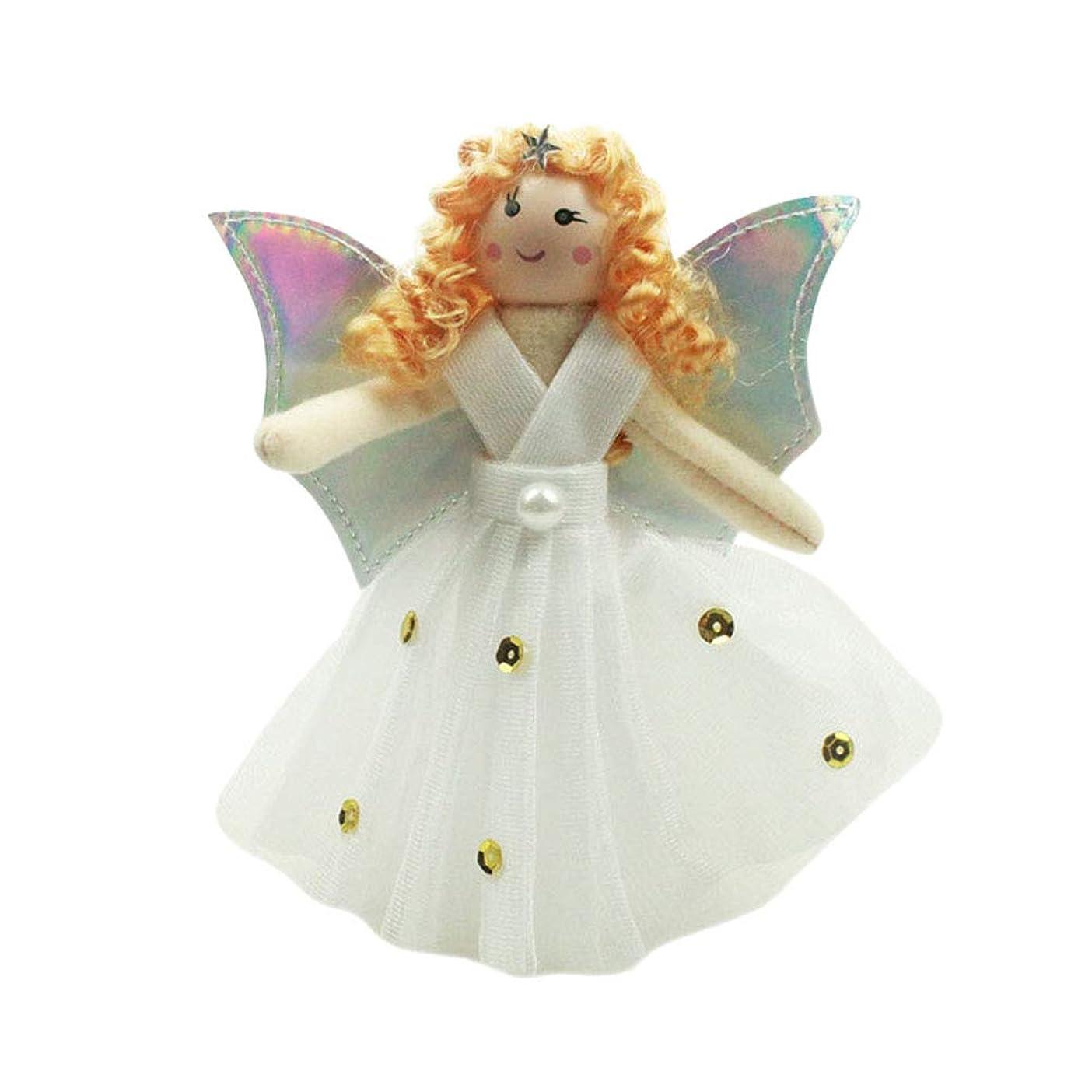 器官迫害達成可能TINKSKY クリスマスツリー トップ 天使 ぬいぐるみ トップスター クリスマス ツリー飾り 可愛い