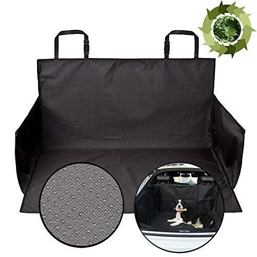 NEEZ Hunde Kofferraumschutz - Extrem einfache & schnelle Befestigung (unter 1 Minute) I kofferraumdecke kofferraumwanne kofferraummatte Kofferraum schutzmatte kofferraumdecke (Premium Version)