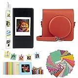 JXE - Kit di accessori per fotocamera Fujifilm Instax Square SQ1, custodia protettiva, album fotografico, adesivi, telaio da tavolo, cornici da appendere alla parete #4