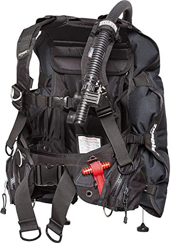 Zeagle Stiletto BC BCD Rugged Rear Inflation Weight Integrated Scuba Dive Diving Diver Buoyancy...