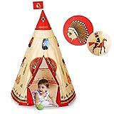 Tipi de Jeu, Tente d'Indien,Tente de Jeu pour Enfants Teepee Parc Naturel Enfant...