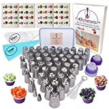 116 Russian Piping Tips Set Cake Decorations...