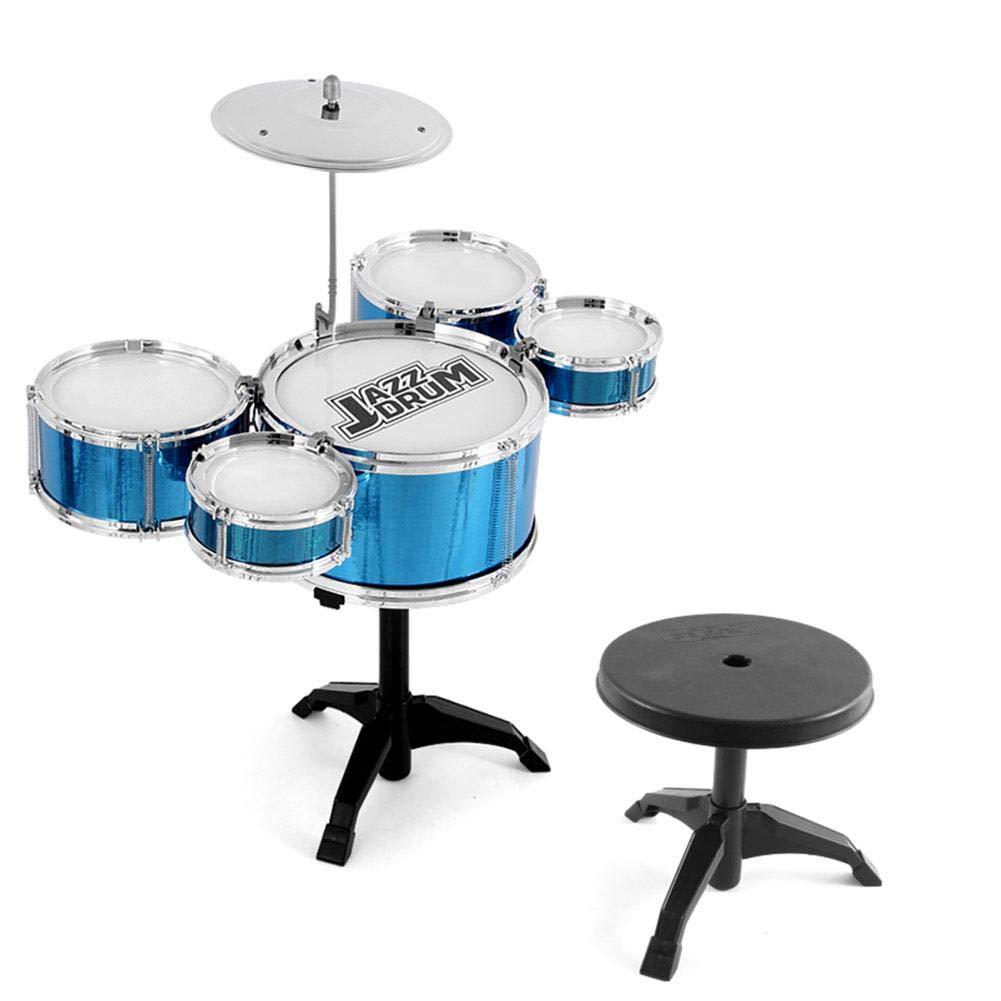 Kinderschlagzeug Jazz Schlagzeug Instrument Fr/üherziehung Puzzle F/ür Kinder /Über 3 Jahre Alt Kindertrommel Kinder