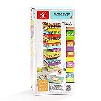 Nene Toys - Torre Magica Colorata in Legno con Animali – Gioco Educativo da Tavolo per Bambini - Gioco Didattico 4 in 1 per Bambini da 3 a 9 anni – Giocattolo Ideale come Regalo per Genitori e Figli #8