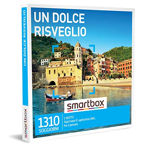 Smartbox - Un Dolce Risveglio - Cofanetto Regalo Coppia, un Soggiorno di 1 Notte per 2 Persone, Idee Regalo Originale