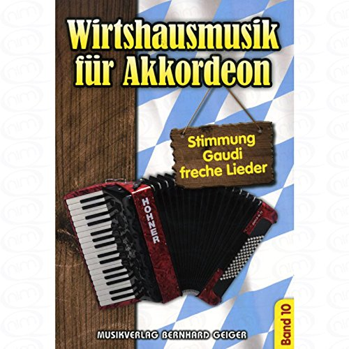 Wirtshausmusik fuer Akkordeon 10 - arrangiert für Akkordeon [Noten/Sheetmusic]