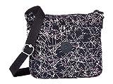 Kipling Women's Sebastian Crossbody Bag, Navy stick Print, One Size