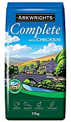 Complete food for working dogs