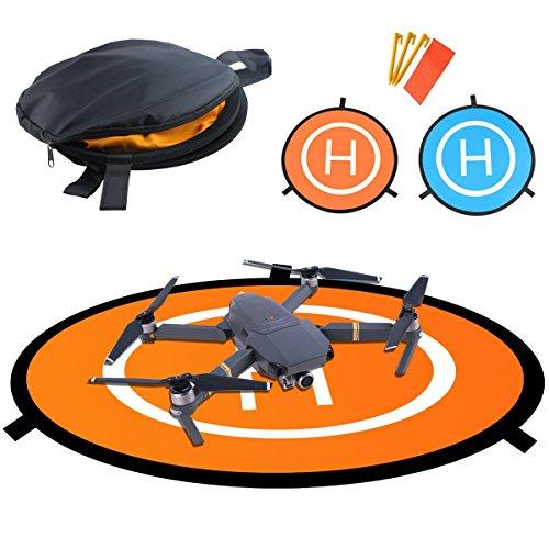Platinum Mavic Pro Flycoo 55cm Landing Pad Drone H/élicopt/ère Parking Tablier Piste D/écollage Atterrissage H/élisurface Pad Facile /à Plier pour DJI Mavic 2 Pro Mavic Air Spark Mavic 2 Zoom