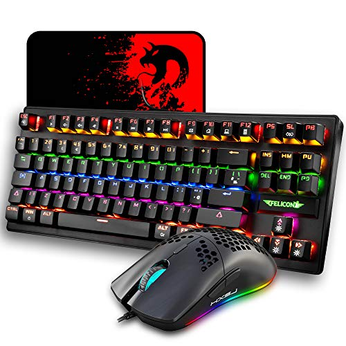 Juego de Teclado y Mouse para Juegos con Cable, diseño del