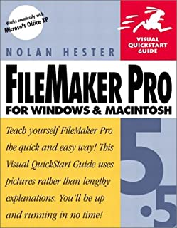 FileMaker Pro 5.5 for Windows & Macintosh (Visual QuickStart Guide)