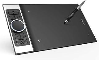 XP-PEN ペンタブレット ドイツ日本大賞優勝 ダブルローラータイヤル11x6インチ7mm超薄型ペンタブ 最新タッチペン8192筆圧 8つホットキー カストマイズ windows/mac/android対応 DecoProM