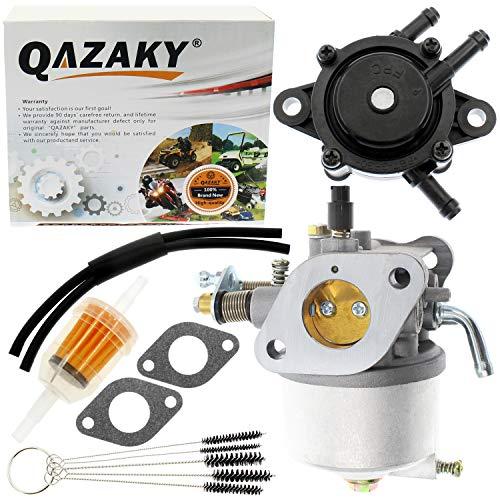 QAZAKY Carburetor Fuel Pump Compatible for EZGO Golf Cart Gas Club Car 295cc Marathon Medalist TXT Freedom MPT 26645-G01 26645-G03 26645-G04 26725-G01 26726-G01 26727-G01 72558-G02 72558-G03 72840-G01